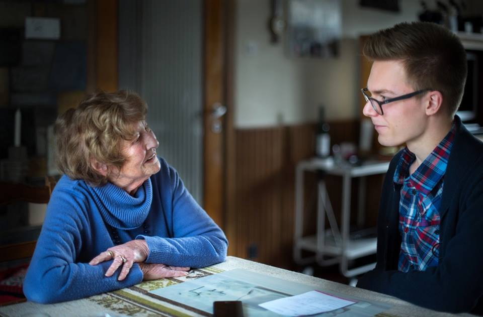Sam Ysebaert interviewt Edith De Smet