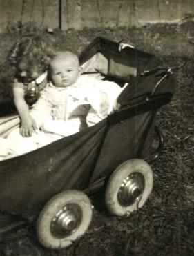 Raoul en Monique Ex op 4 april 1943