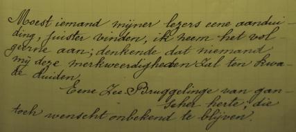 Laatste dagboeknotities anonieme Zeebrugse zuster
