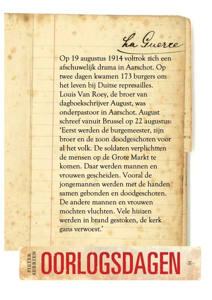 19 augustus 1914 - Oorlogsdagen 1
