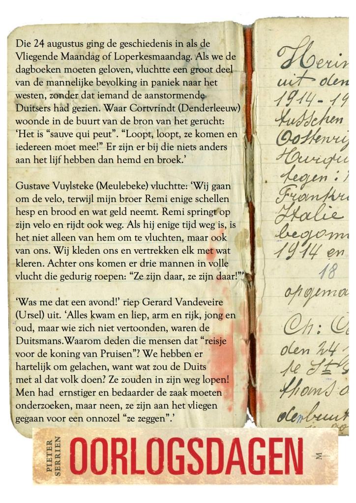24 augustus 1914 - Oorlogsdagen 2