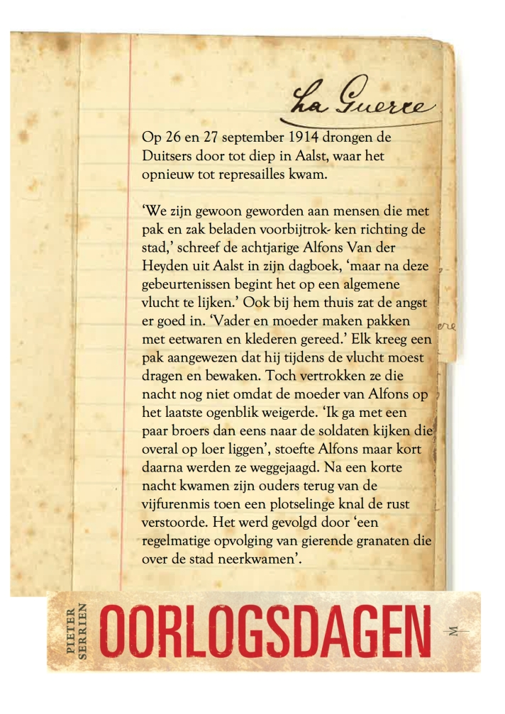 27 september 1914 - Oorlogsdagen 1