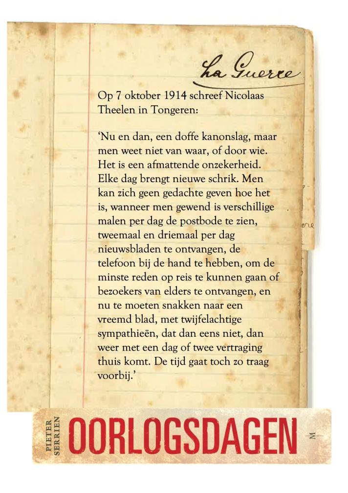 7 oktober 1914 - Oorlogsdagen 1