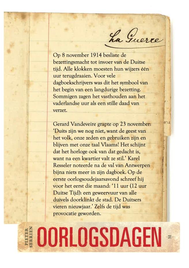 8 november 1914 - Oorlogsdagen 1