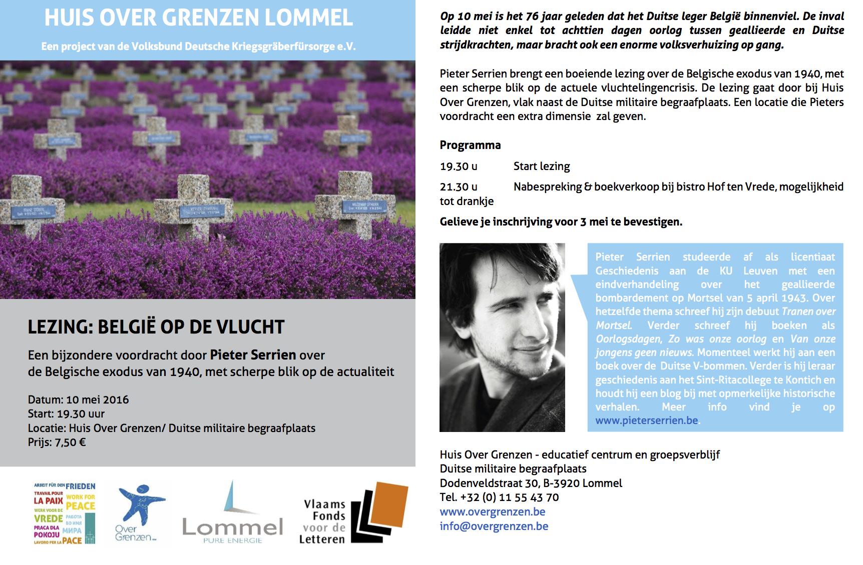 Lezing Lommel 10mei2016