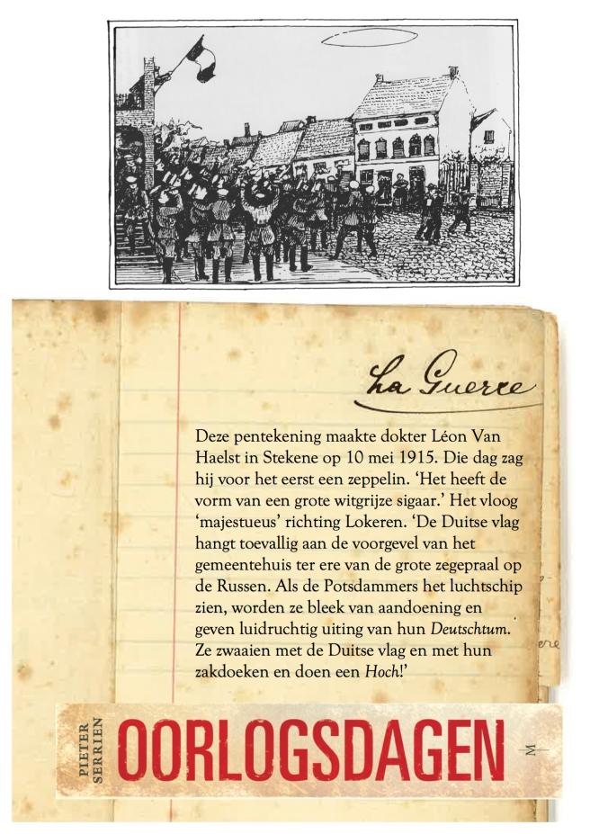 10 maart 1915 verwonderd - Oorlogsdagen 2
