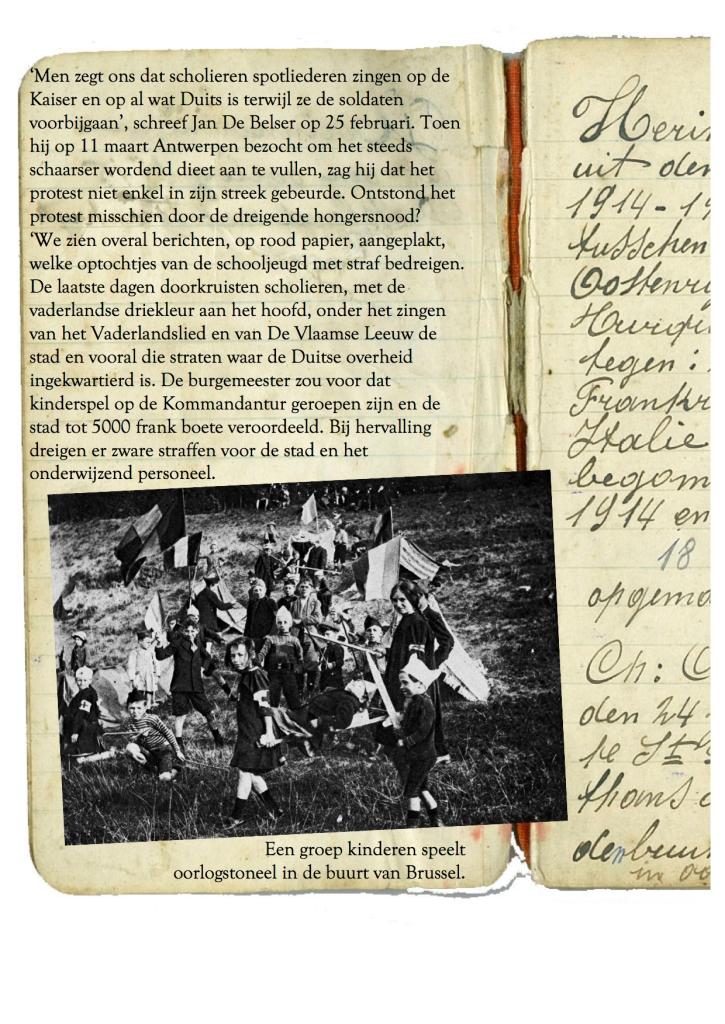 10 maart 1915 verwonderd - Oorlogsdagen 4