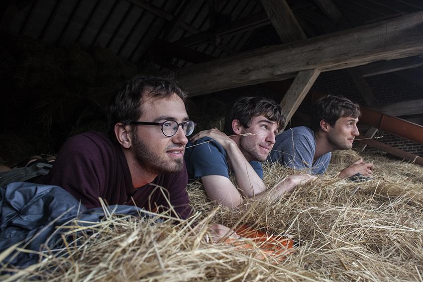 Slapen op een hooizolder in Ferme de Bihen, een aparte historische beleving.