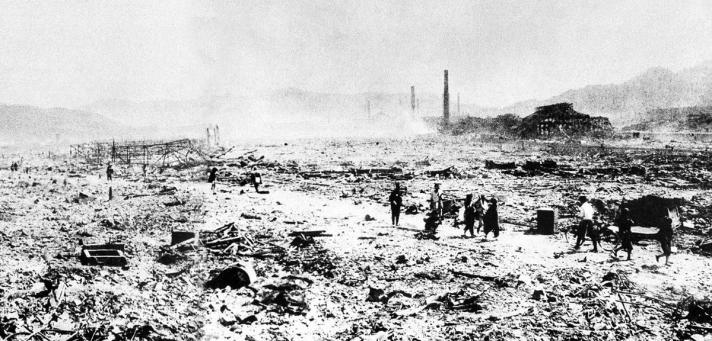 Nagasaki, eerste foto na bom