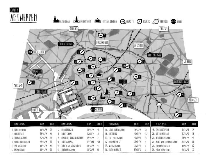 Antwerpen onder de V's - Elke dag angst Mathias Van den Berge