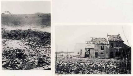 De getroffen boerderij in Nalinnes