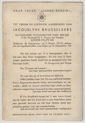 19441216 cinema Rex BRUSSELEERS verso